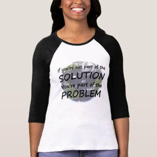 Pieza de las camisetas del Día de la Tierra de la