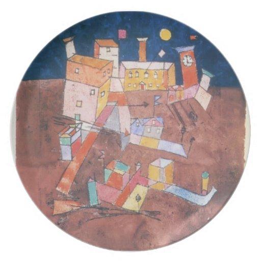 Pieza de Paul Klee- de G Plato Para Fiesta