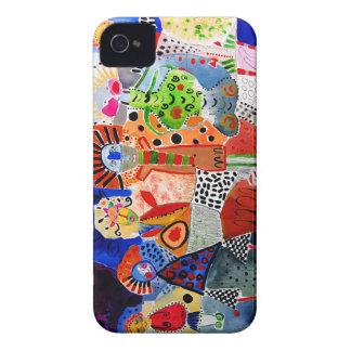 pieza del caso del iPhone de mi colección de las iPhone 4 Case-Mate Cárcasas