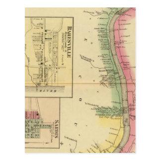 Pieza superior del río Ohio y del valle Tarjetas Postales
