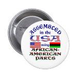 Piezas afroamericanas pin