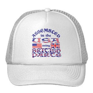 Piezas británicas gorras