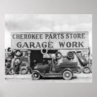 Piezas de automóvil cherokees 1936 impresiones