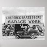 Piezas de automóvil cherokees: 1936 póster