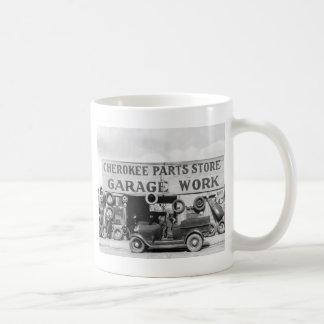 Piezas de automóvil cherokees: 1936 taza de café