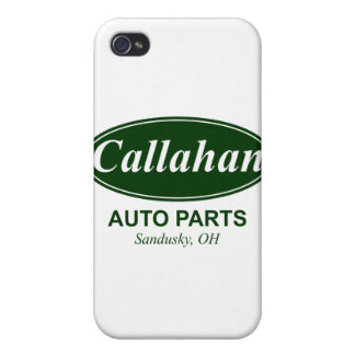 Piezas de automóvil de Callahan iPhone 4 Carcasas