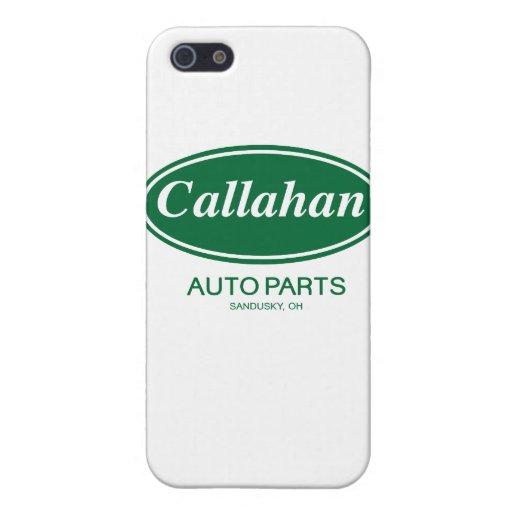 Piezas de automóvil de Callahan iPhone 5 Carcasa