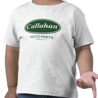 Piezas de automóvil de Callahan Camiseta