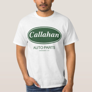 Piezas de automóvil de Callahan Remera