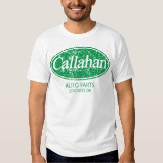Piezas de automóvil de Callahan Remeras