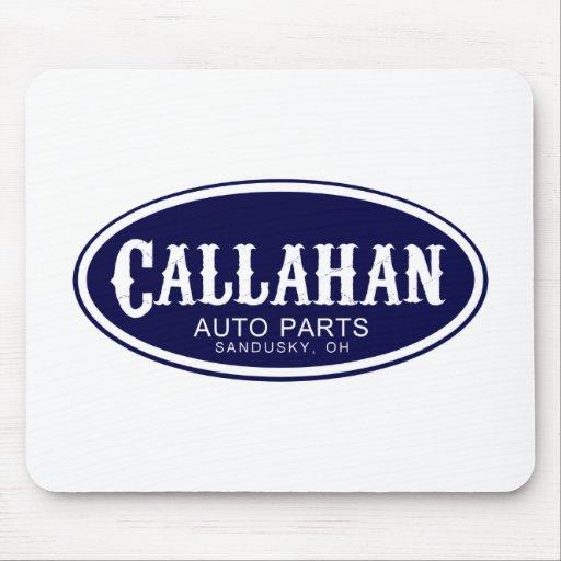 Piezas de automóvil de Callahan Tapete De Ratones