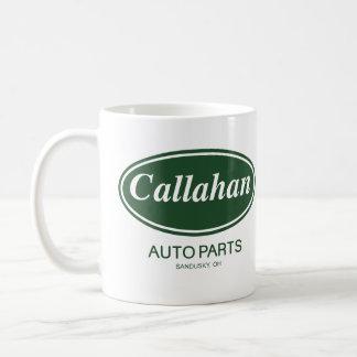 Piezas de automóvil de Callahan Tazas De Café