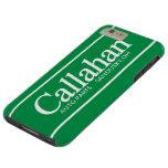 Piezas de automóvil retras divertidas de Callahan Funda De iPhone 6 Plus Tough