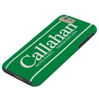 Piezas de automóvil retras divertidas de Callahan Funda Resistente iPhone 6 Plus