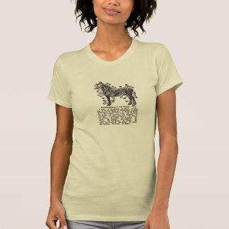 Piezas de Percheron Camiseta