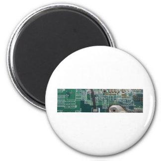 piezas del ordenador imán redondo 5 cm