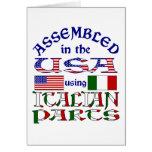 Piezas italianas felicitacion