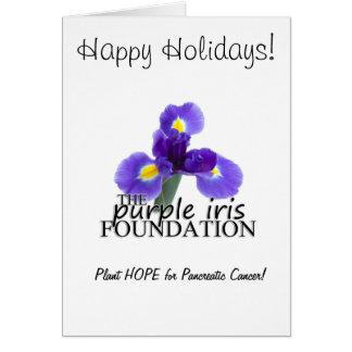 PIF Pancreatic Cancer Awareness Holiday Card