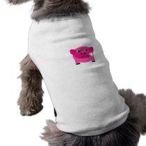 pig-210010  pig pink piglet sweet cute pets comic shirt