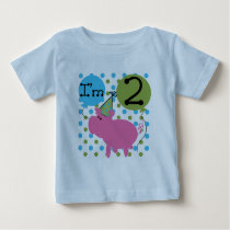 Pig 2nd Birthday T shirts and Gifts
