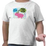 Pig 3rd Birthday T Shirts