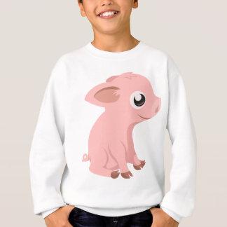 pig-576570 HUMBLE HAPPY PINK PIG PIGLET PIGGY CART Sweatshirt