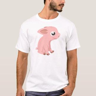 pig-576570 HUMBLE HAPPY PINK PIG PIGLET PIGGY CART T-Shirt
