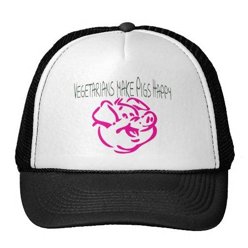 Pig.ai feliz gorro de camionero