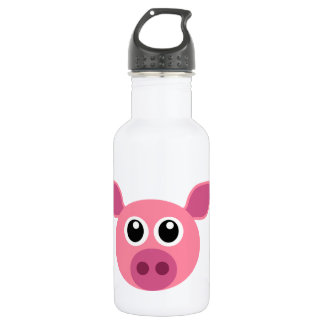 Pig and design items 18oz water bottle