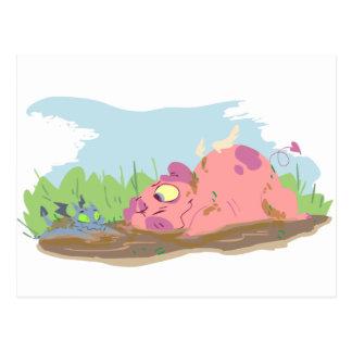 Pig and Dragon Postcard