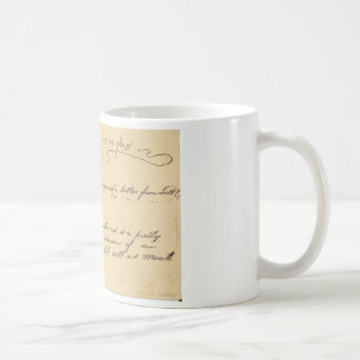 pig and empty pockets with text coffee mug