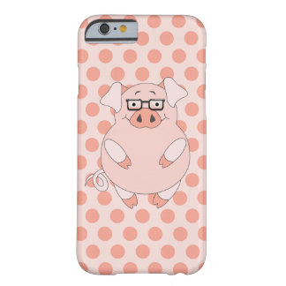 Pig And Polkadots Barely There iPhone 6 Case