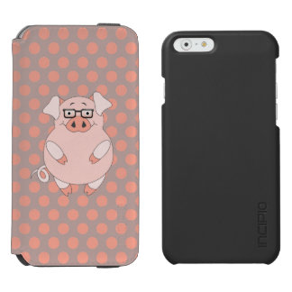 Pig And Polkadots iPhone 6/6s Wallet Case