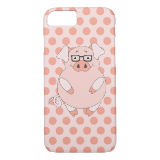 Pig And Polkadots iPhone 8/7 Case