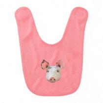 Pig Baby Bib