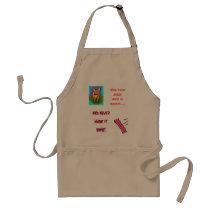 pig/bacon breakfast apron