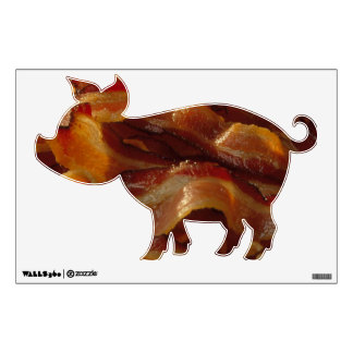 Pig Bacon Wall Decal