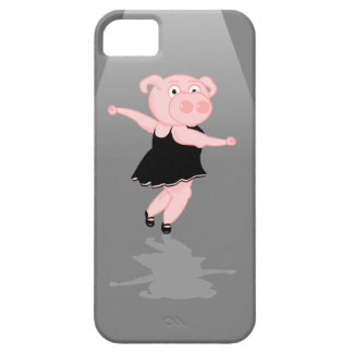 Pig Ballerina iPhone SE/5/5s Case