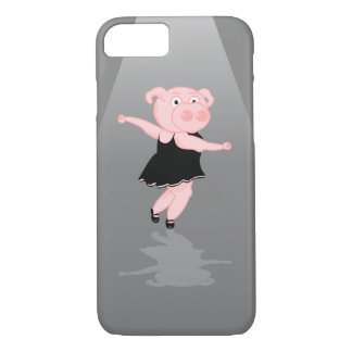Pig Ballet Dancer iPhone 8/7 Case