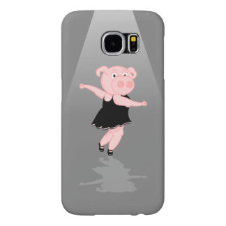 Pig Ballet Dancer Samsung Galaxy S6 Case