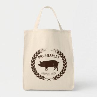 Pig & Barley Grocery Tote