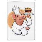 Pig BBQ Card