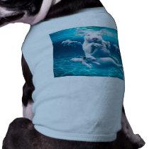 Pig beach - swimming pigs - funny pig tee