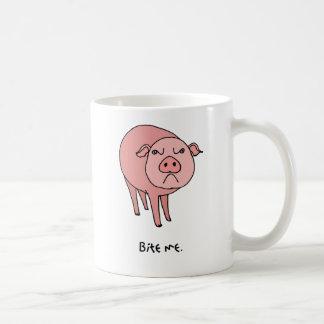 Pig Bite Me Mug