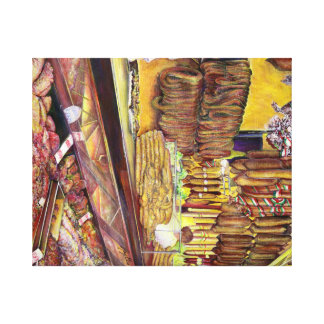 Pig, Budapest Canvas Print