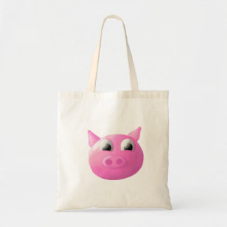 Pig Budget Tote