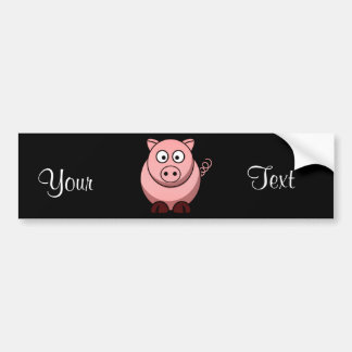 Pig Bumper Sticker