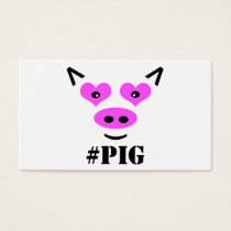 #Pig Business Card