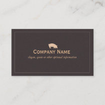 Pig Business Card