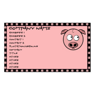 Pig Business Cards